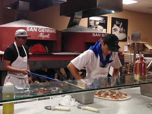 Pizza Making at DeSano Pizza