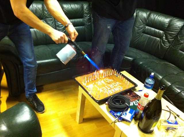 ICS Vortex birthday cake