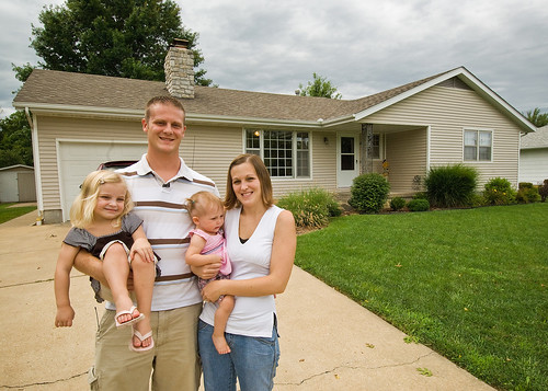 A USDA Section 502 Home Loan Guarantee helped the Goetz family secure a bank loan on their rural Kansas home.