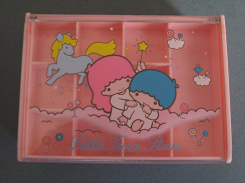 Little Twin Stars Jewellery Box 1986