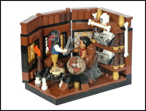 Lego Pirates Of The Carribean -captain´s cabin-