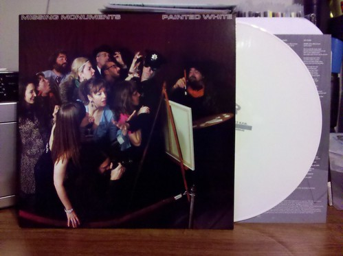 King Louie's Missing Monuments - Painted White LP - White Vinyl /100