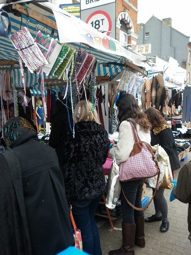 06 - Shopping at one of the trims n notions stalls
