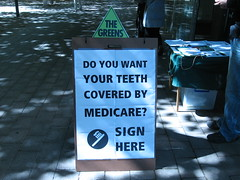 Canberra Medicare Stall 7 by Greens MPs