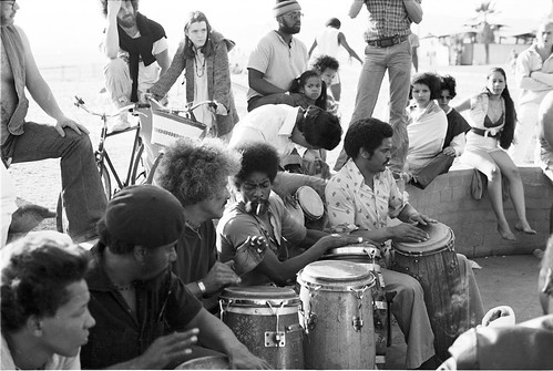 Vintage Venice Beach Drum Circle
