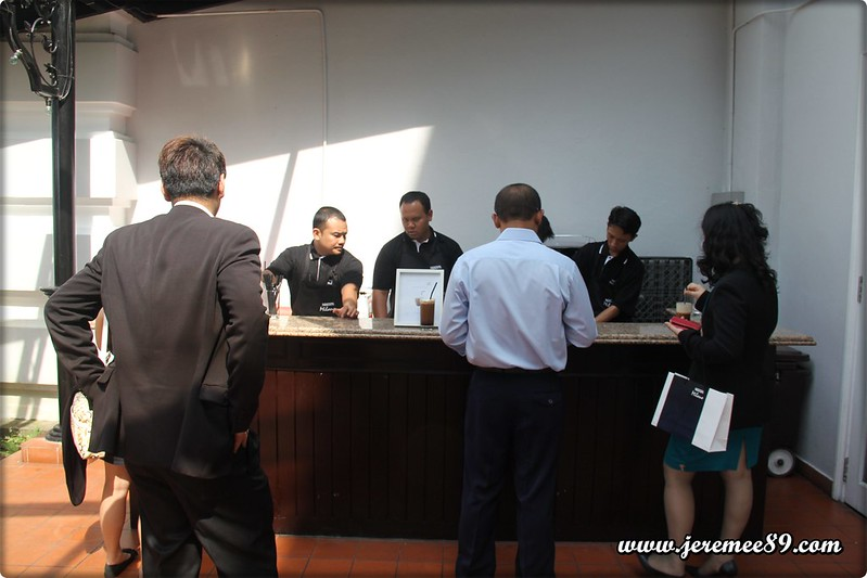 Nescafe Milano Launching @ E&O Hotel - Ice Coffee Tasting Desk