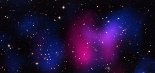 'Musket Ball Cluster' (NASA, Chandra, Hubble, 04/12/12)