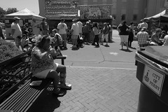 On the Street at the 2012 Dogwood Festival