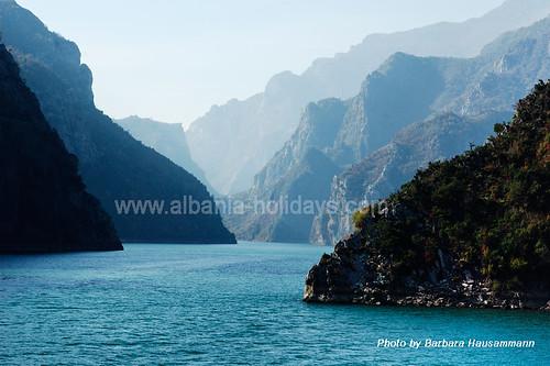 Lake-Koman-Albania by Albania Holidays