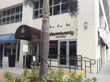 Eleventwenty Cafe Bistro Front Entrance