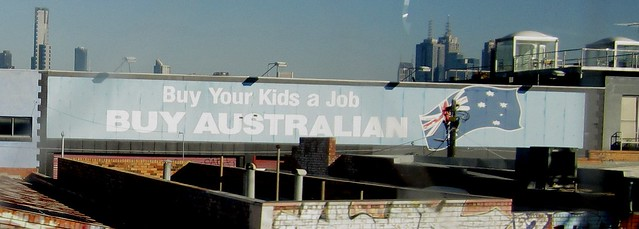 Buy your kids a job - Buy Australian, in Richmond