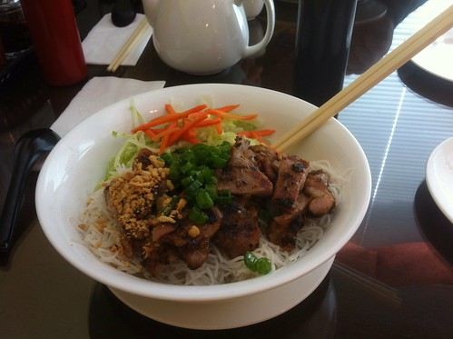 Grilled Chicken Vermicelli by raise my voice