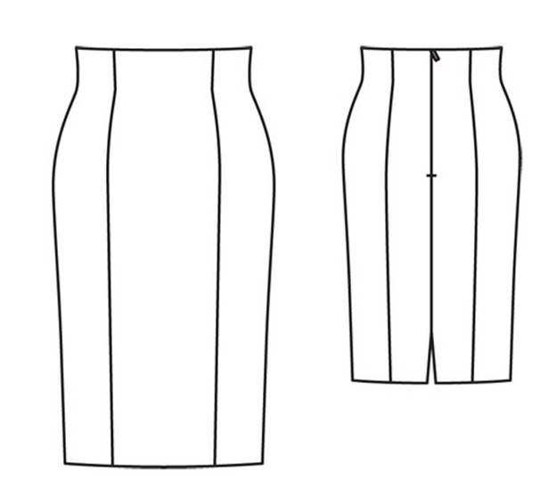 high waist pencil skirt pattern www pixshark