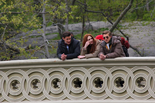 Doctor Who filming in Central Park, New York City