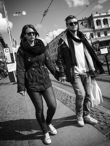 Happy couple by Brintam