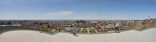 Panorama view of Montreal