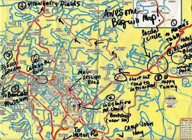 Awesome Baguio Map