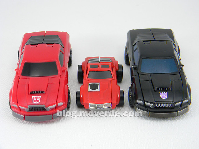 Transformers Windcharger vs Wipe-Out Scout - United - modo alterno