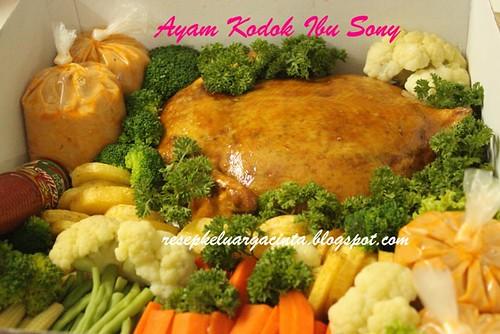 Ayam Kodok bu Sony,Madiun