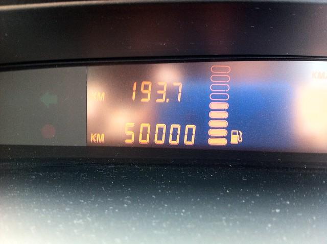 やっと50,000km