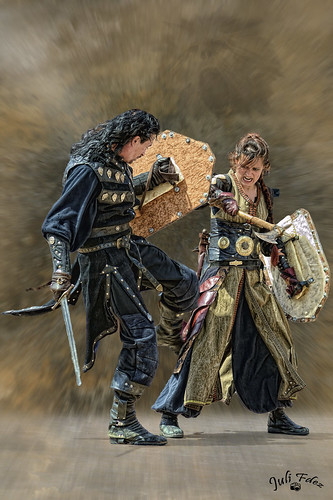 Excalibur en acción - Setmana Medieval de Montblanc 2012