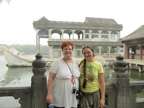Daphne Sheena McArtor is at the Summer Palace in Beijing