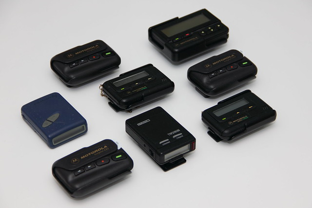 assorted pagers