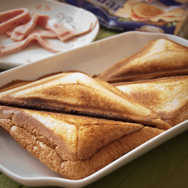 My lovely breakfast - Sandwich toast | Flickr - Photo Sharing!
