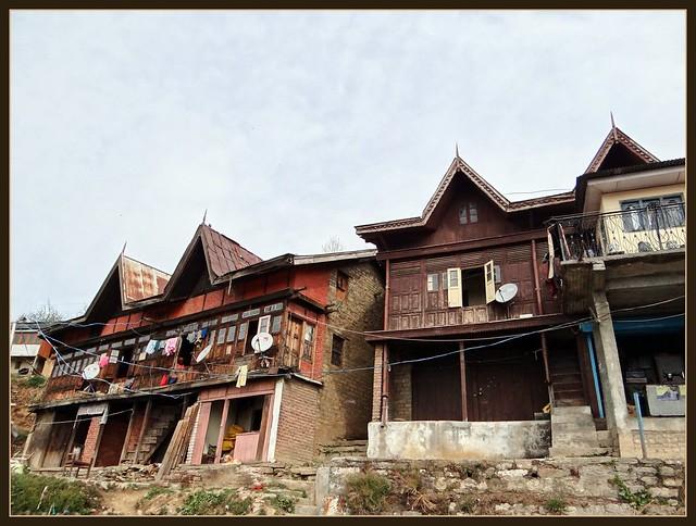 Traditional houses at Matiana