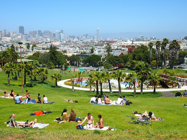 Dolores Park, Mission District, San Francisco