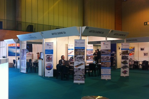 Stand Aritex en Aerospace & Defense Meetings 2012