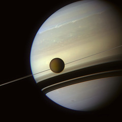 In the shadows of Saturn's rings