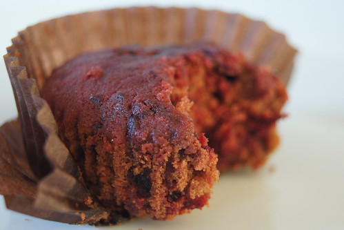 Chocolate and  Beetroot Muffins Recipe