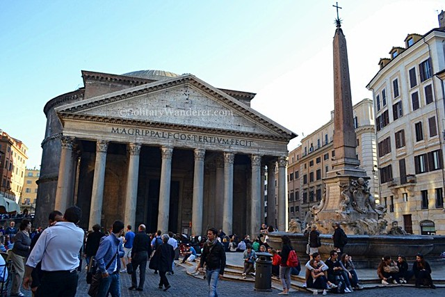 Fontana del Pantheon, Rome