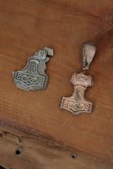 Erster Bronzegussversuch von Sven (Hopp) - Museumsfreifläche Wikinger Museum Haithabu WHH 17-06-2012