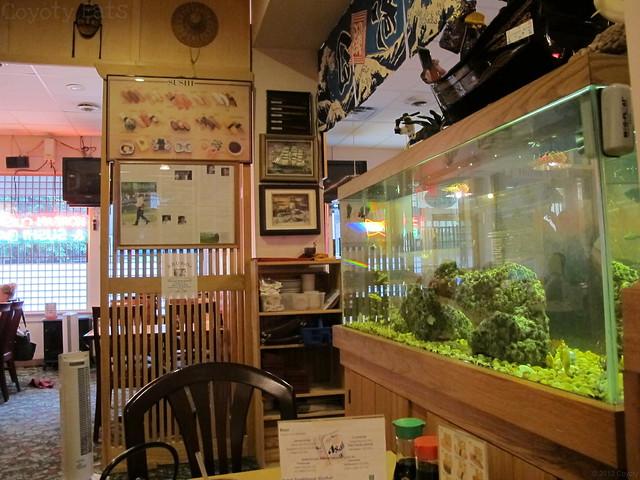 Sushi Kim interior