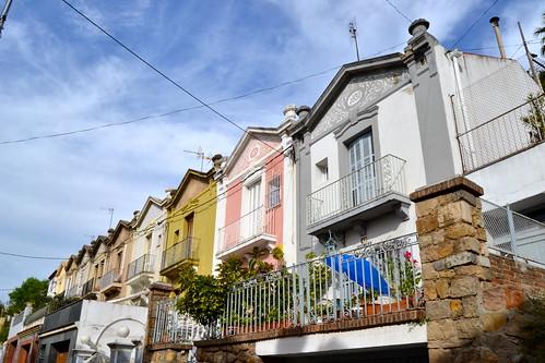 Houses in Montjuïc