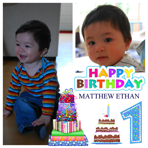 Happy Birthday, Matthew