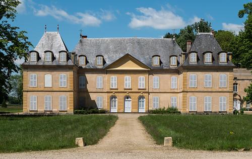 Château (XVIIIe s.) de Vougy (Loire, France)