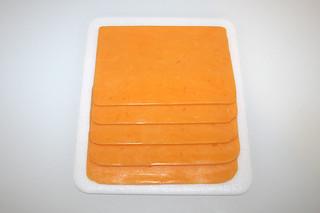 05 - Zutat Cheddar-Käse / Ingredient cheddar cheese