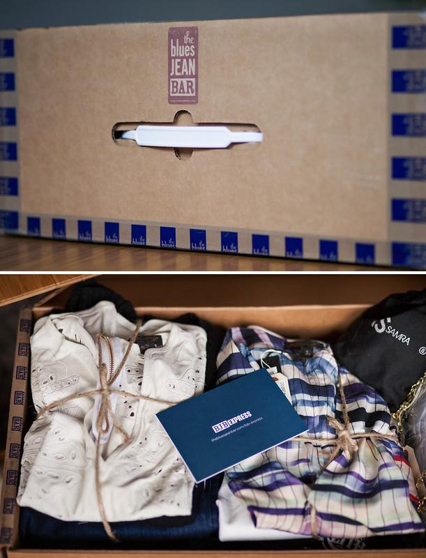 cute & little blog | petite fashion | blue jean bar express review