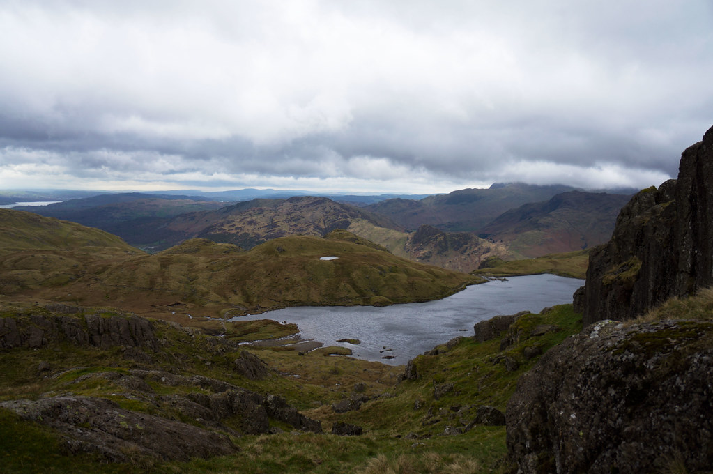 Above Stickle Tarn