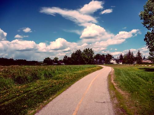 500km on a SW Bike Path