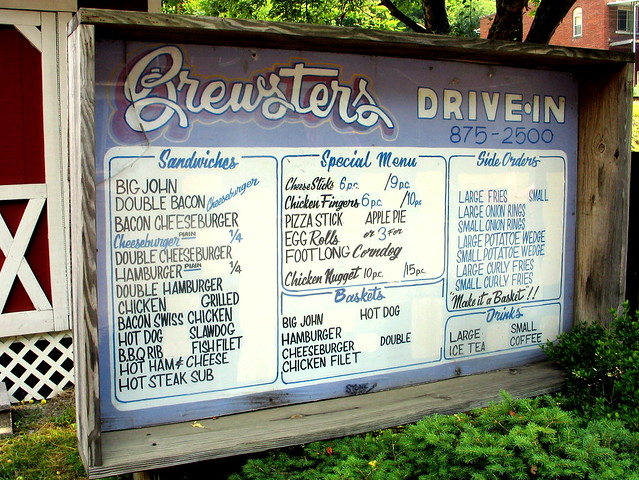 Brewster Restaurant Menu