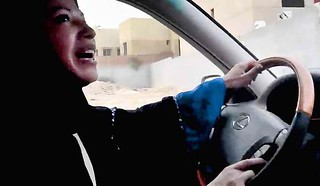 Saudi women drive for their rights #womensrights #no2sharia