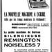 Remington typewriter ads