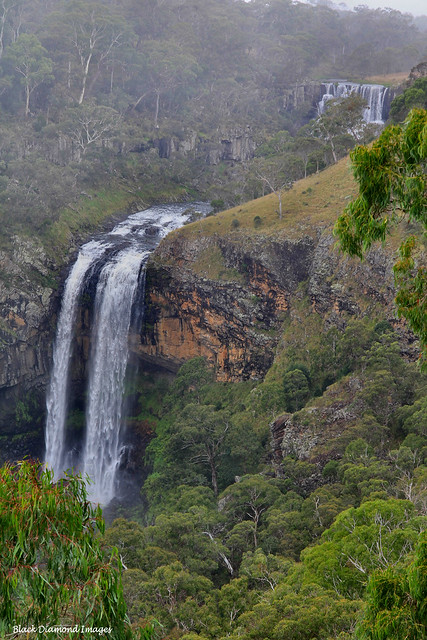 Upper and Lower Ebor Falls, Guy Fawkes River, Ebor, Waterfall Way, NSW