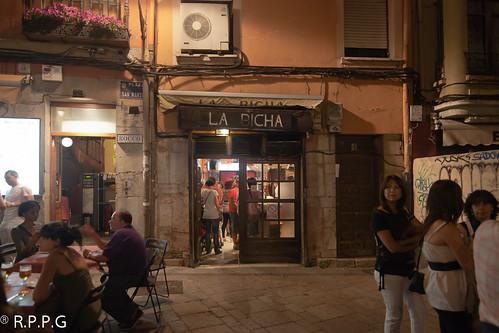 La Bicha en la Plaza de San Martin. Leon. España. Nocturnas Julio 2011