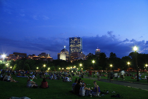 The Boston Commons Skyline 01