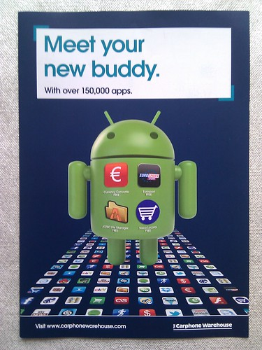 android advert